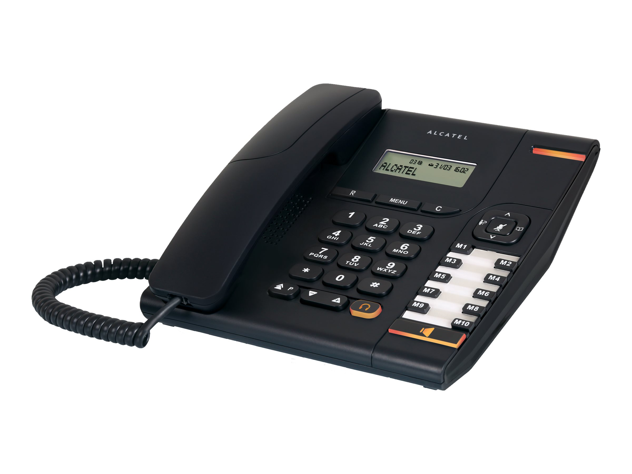 2-piece corded phone -2 lines Di...