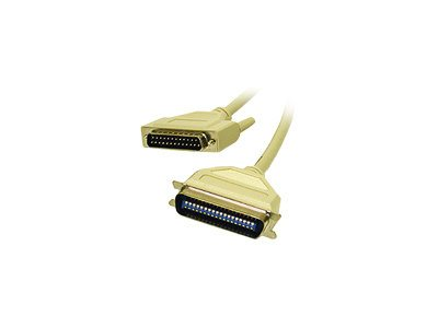 C2G Printer cable DB-25 (M) to 36 pin Centronics (M) 30 ft molded beige