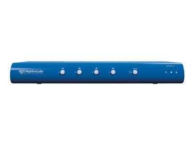 HighSecLabs Secure SM40NU-3 Keyboard/mouse/audio switch 4 x keyboard/mouse/audio