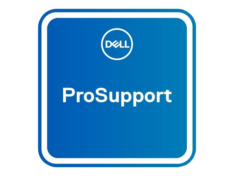 Dell Upgrade from 1Y ProSupport to 3Y ProSupport - extended service agreement - 2 years - 2nd/3rd year - on-site