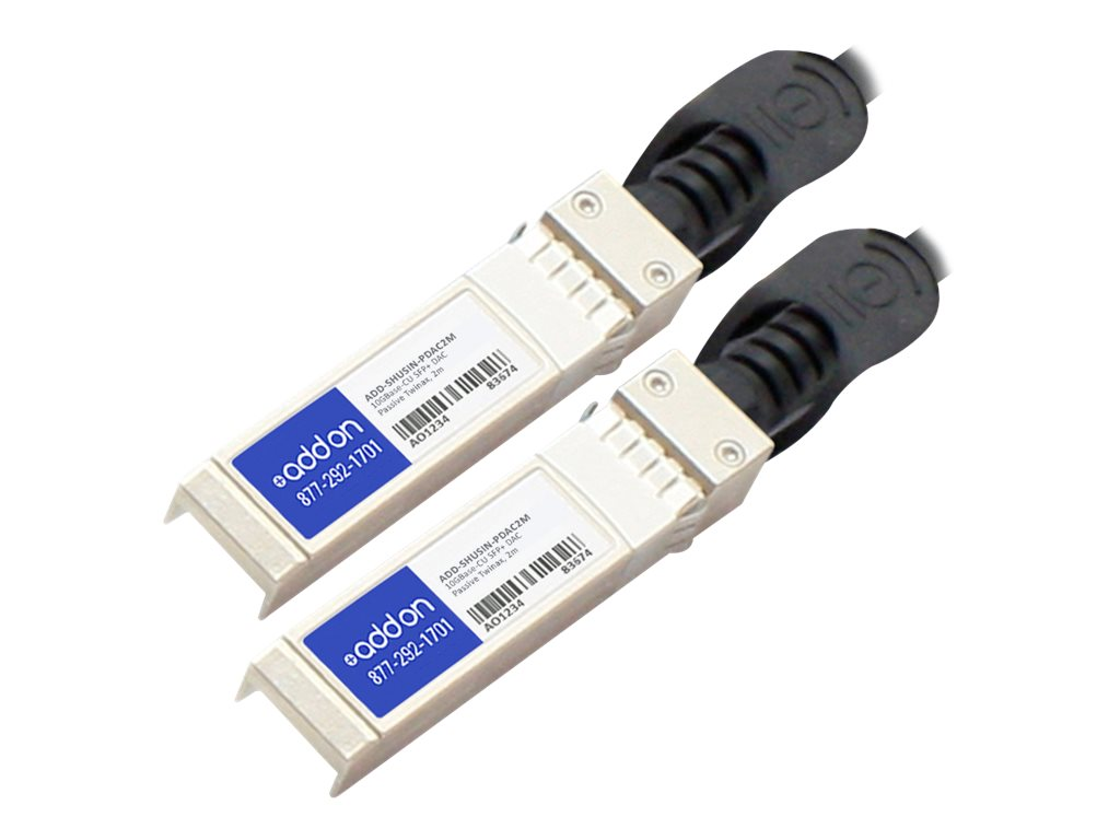 AddOn 10GBase-CU direct attach cable - TAA Compliant - 2 m