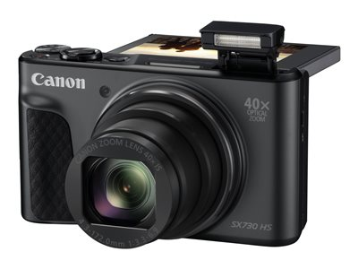 Canon PowerShot SX730 HS Digital camera compact 20.3 MP 1080p / 60 fps 40x optical zoom