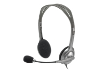 Picture of Logitech Stereo Headset H110 - headset (981-000271)