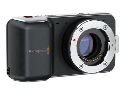 Blackmagic Pocket Cinema Camera - Camcorder - nur Gehäuse - Speicher: Flash-Karte
