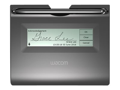 Wacom STU-300B Signature terminal w/ LCD display 3.9 x 1 in electromagnetic wired USB