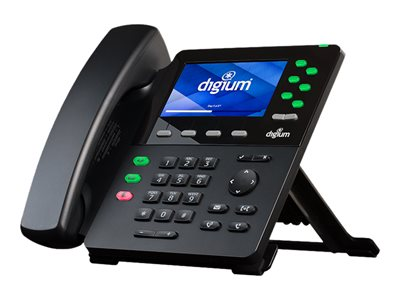 Digium D65 VoIP phone SIP v2 6 lines