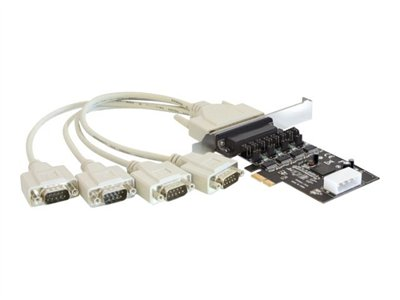PCI Express Card > 4 x Serial with power management