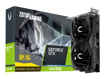 ZOTAC GAMING GeForce GTX 1660 SUPER Twin Fan 6GB GDDR5