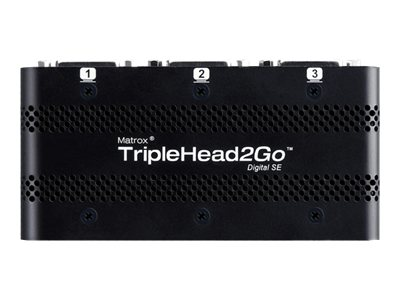 Matrox Graphics eXpansion Module TripleHead2Go - Digital SE - Videokonverter - DVI