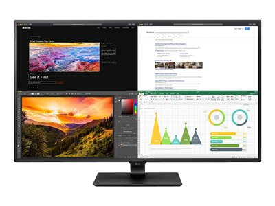 LG 43BN70U-B LED monitor 43INCH (42.51INCH viewable) 3840 x 2160 4K IPS 350 cd/m² 1000:1