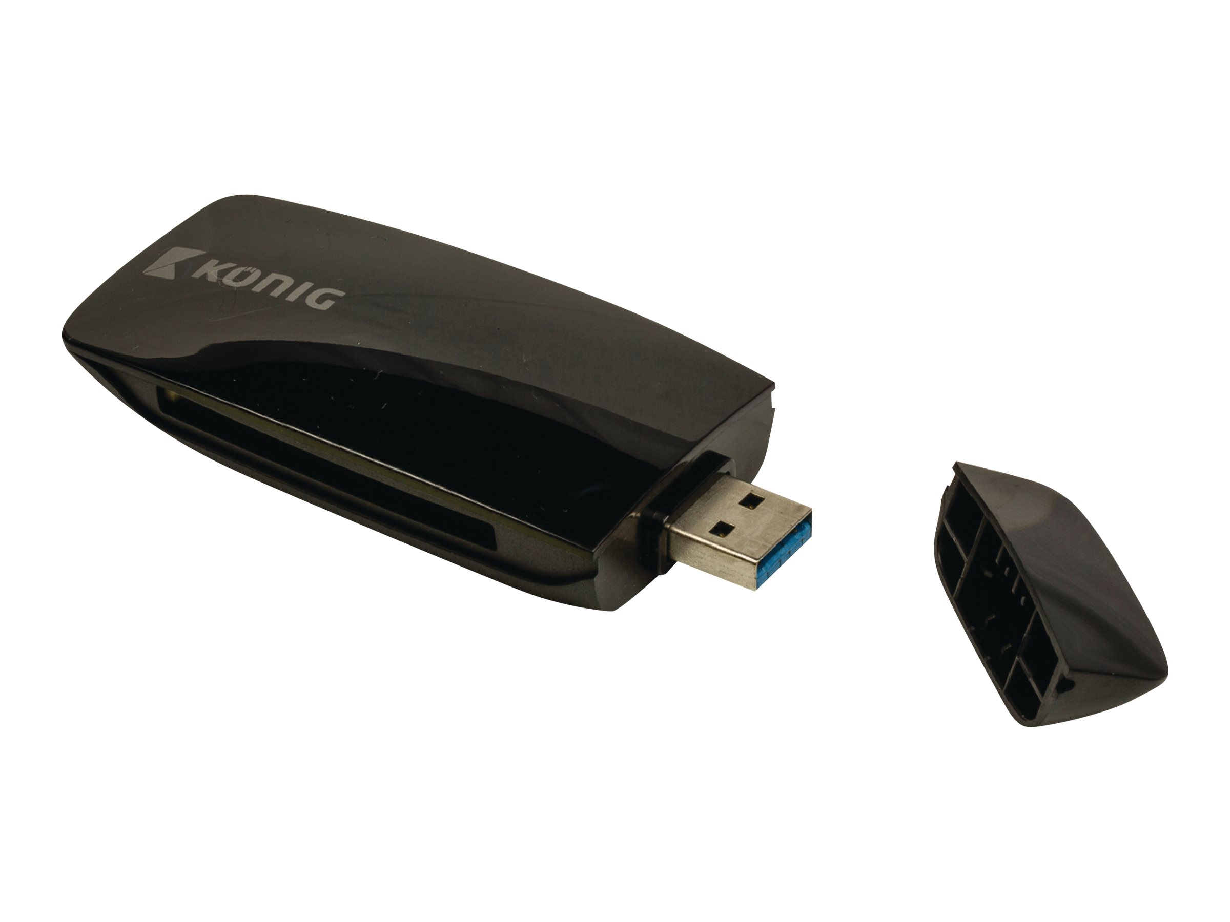 König - Kartenleser - All-in-one (MS, SD, microSD, MS Micro) - USB 3.0