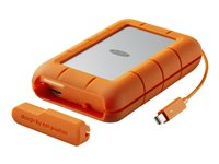 LaCie Rugged RAID STFA4000400 - Disque dur - 4 To - externe (portable) - USB 3.0 / Thunderbolt