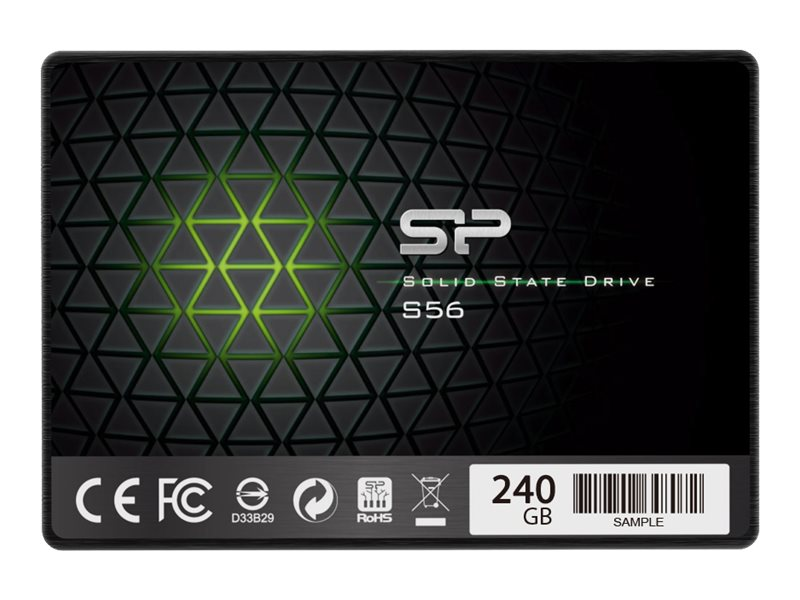 SILICON POWER Slim S56 - Solid-State-Disk - 120 GB - intern - 6.4 cm (2.5