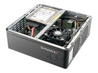 "Supermicro Compact 1x 2.5"" Fixed Drive Bay SuperServer Barebone 1019S-MP"