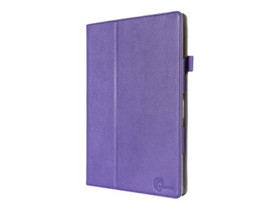 i-Blason Slim Book Flip cover for tablet synthetic leather purple 12INCH