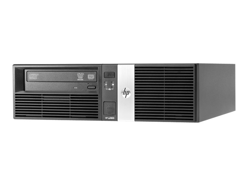 HP Point of Sale System rp5800 - DT - 1 x Core i3 2120 / 3.3 GHz - RAM 4 GB - HDD 500 GB - HD Graphics 2000