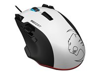 ROCCAT Tyon All Action Multi-Button Gaming Mouse laser 16 buttons wired USB white
