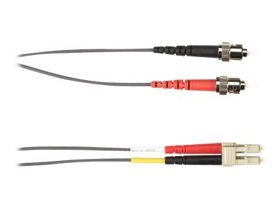 Black Box patch cable - 2 m - gray