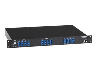 Black Box Pro Switching System NBS Fiber Multimode SC A/B Switch managed