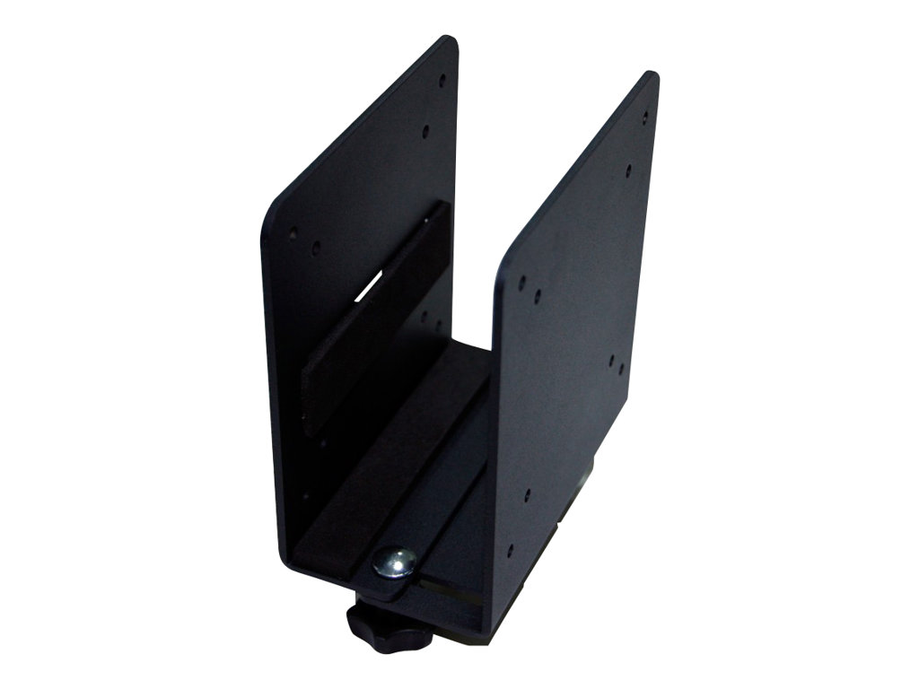 NewStar THINCLIENT-20 - Montagekomponente (Halter) für für Thin Client - Schwarz - für NewStar Full Motion Dual Desk Mount, Tilt/Turn/Rotate Quad Desk Mount