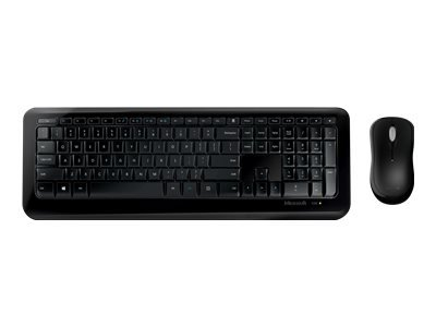 Microsoft Wireless Desktop 850 for Business - Keyboard and mouse set - wireless - 2.4 GHz
