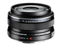 Olympus M.Zuiko Digital Wide-angle lens 17 mm f/1.8 Micro Four Thirds
