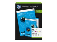HP 953XL Office Value Pack - 3er-Pack
