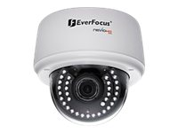 EverFocus EDN3160 Network surveillance camera dome vandal-proof color (Day&Night) 3 MP