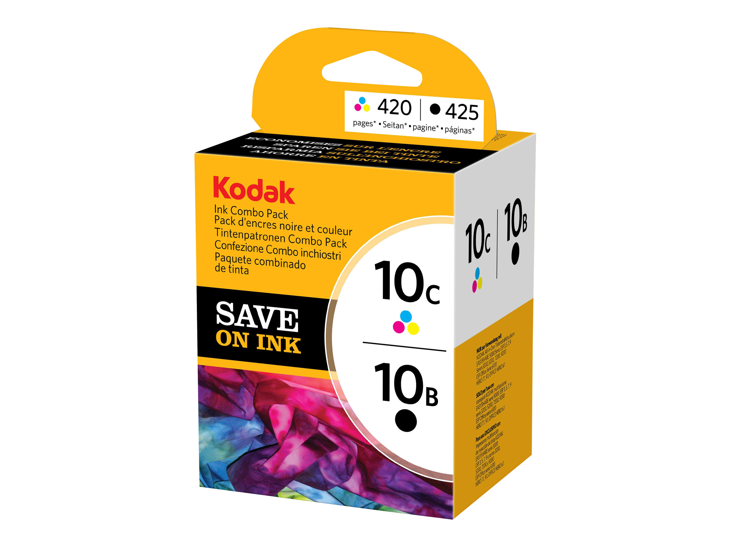 Kodak Ink Combo Pack - Schwarz, Multicolor - Original - Tintenpatrone - für ESP 3250, 5, 5250, 7, 7250, 9, Office 6150; HERO 6.1, 7.1, 9.1; OFFICE HERO 6.1