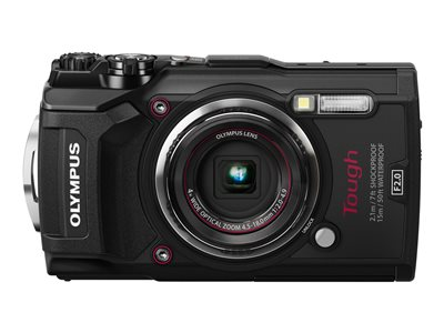 Olympus Tough TG-5 Digital camera compact 12.0 MP 4K / 30 fps 4x optical zoom Wi-Fi