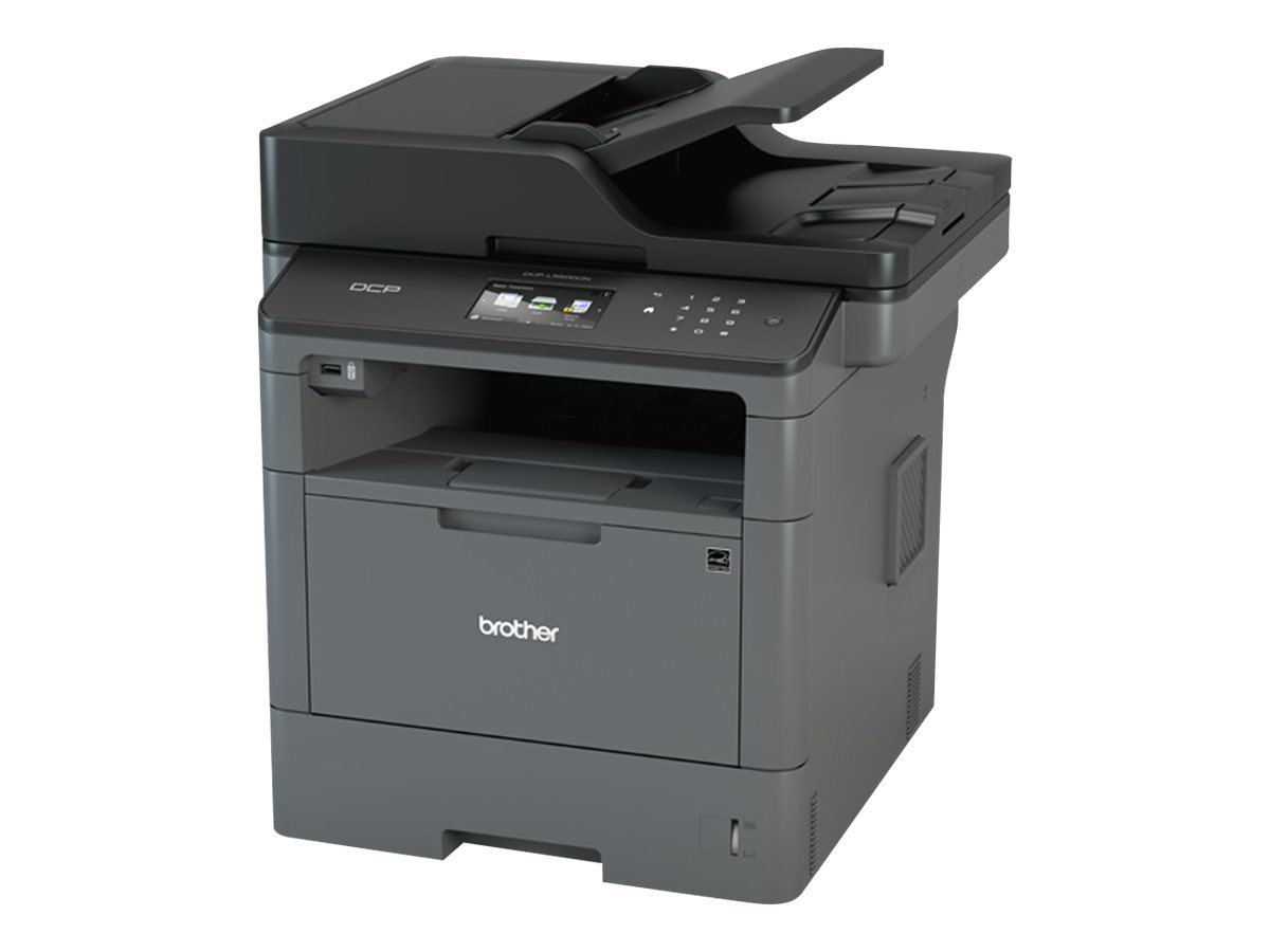 Brother DCP-L5500DN - Multifunktionsdrucker - s/w - Laser - Legal (216 x 356 mm) (Original) - A4/Legal (Medien)