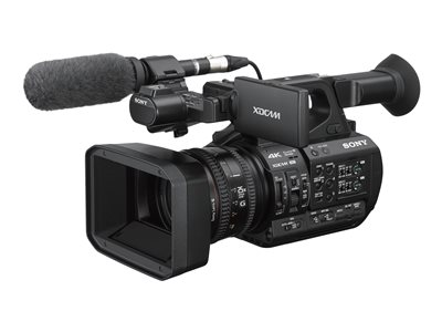Sony XDCAM PXW-Z190 Camcorder 4K / 60 fps 25x optical zoom flash card NFC, Wi-