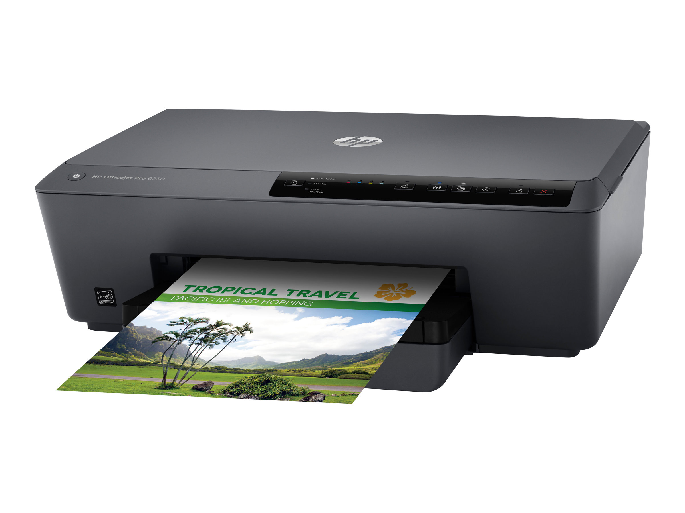 HP Officejet Pro 6230 ePrinter - Drucker - Farbe - Duplex - Tintenstrahl - A4/Legal