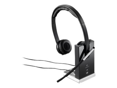 Logitech Wireless Headset Dual H820e - Headset - On-Ear - DECT - drahtlos