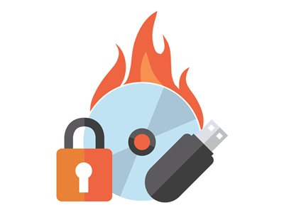Roxio Secure Burn Enterprise (v  4) - license - 1 user