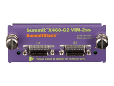 Extreme Networks Summit X460-G2 Series VIM-2ss - network stacking module