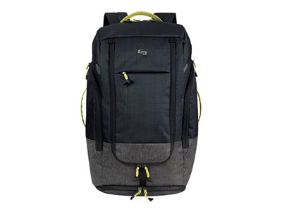 SOLO Active Collection Velocity Notebook carrying backpack 17.3INCH black/gray