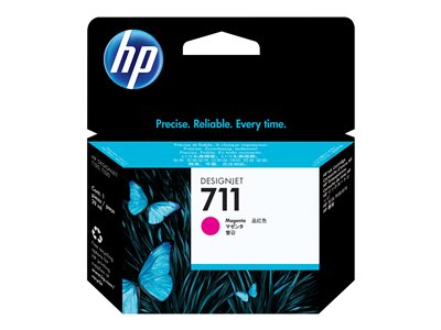 HP 711 29 ml magenta original DesignJet ink cartridge