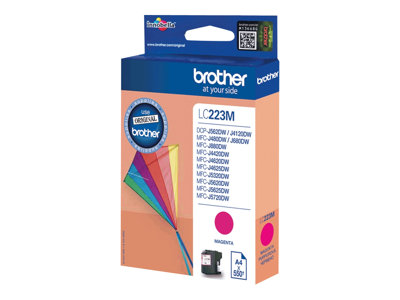 Brother LC 223M Magenta 550 sider