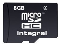 Integral Europe Cartes mémoires INMSDH8G4NAV2