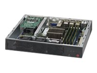 Supermicro SuperServer E300-8D Server Mini-1U 1-way 1 x Xeon D-1518 / 2.2 GHz RAM 0 GB