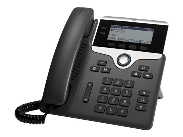 Cisco IP Phone 7821 - VoIP-Telefon - SIP, SRTP - 2 Leitungen