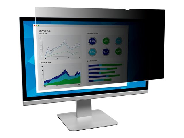 """Image of 3M Privacy Filter for 24"""" Widescreen Monitor - display privacy filter - 24"""" wide"""