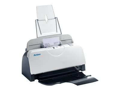 Avision AD125 - Document scanner - Duplex - 8.5 in x 118 in - 600 dpi x 600 dpi - up to 25 ppm (mono) / up to 25 ppm (color) - ADF (50 sheets) - up to 4000 scans per day - USB 2.0