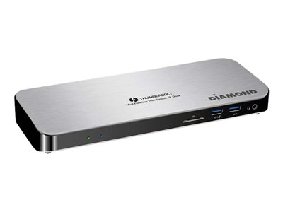 Diamond Ultra Dock TB3000DS Docking station USB-C 3.1 / Thunderbolt 3 HDMI GigE