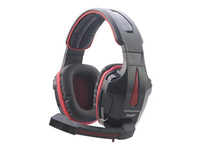 Inland PRO GAMER Lighting Headset Headset full size wired