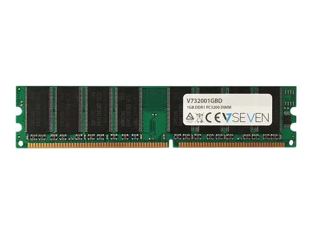 Image of V7 - DDR - 1 GB - DIMM 184-PIN - unbuffered