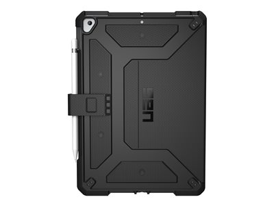 "UAG Rugged Case for iPad 10.2-inch (7th Gen, 2019) - Metropolis Black - Back cover for tablet - black - 10.2"" - for Apple 10.2-inch iPad (7th generation)"