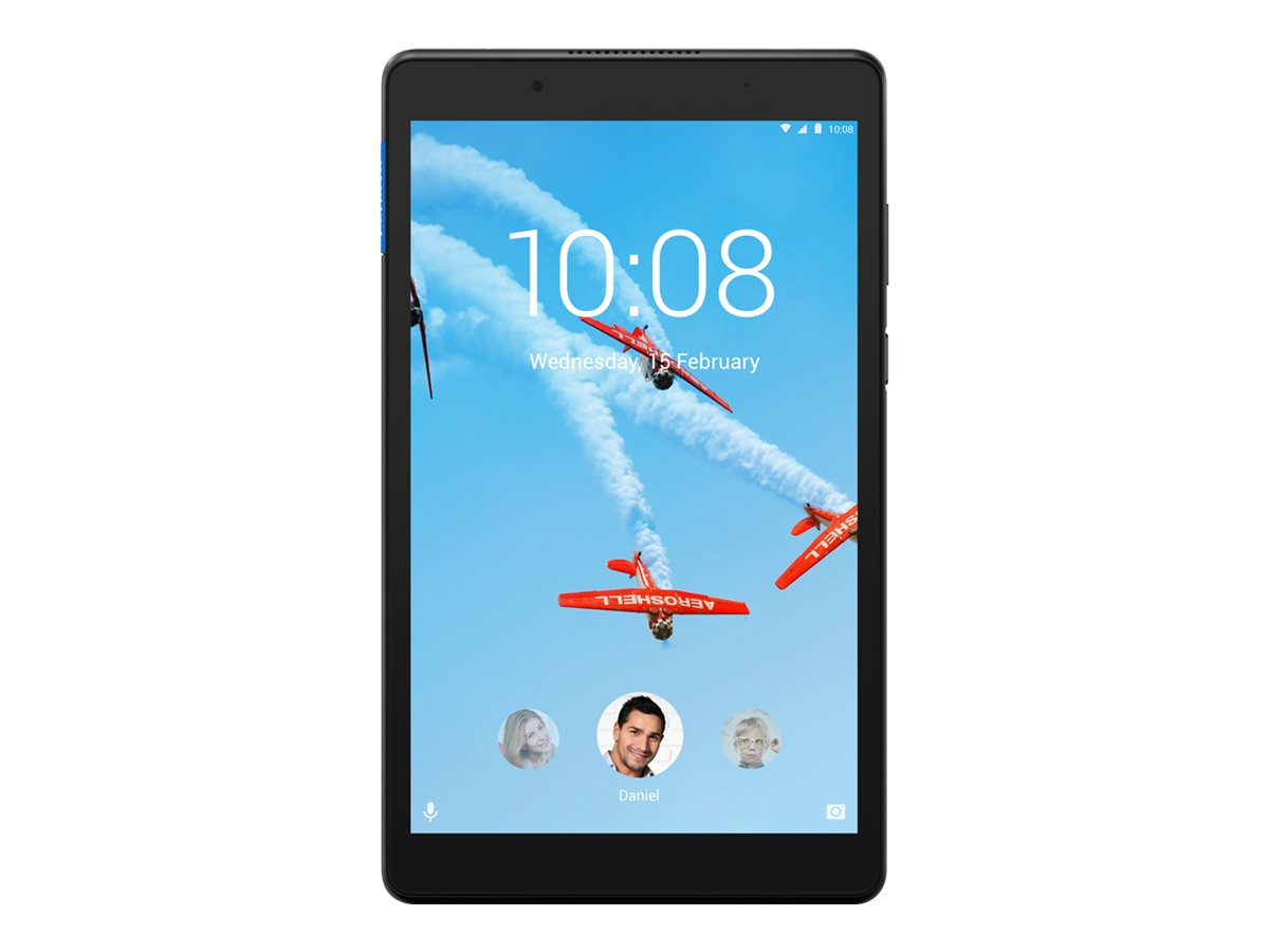 """Lenovo Tab E8 ZA3W - Tablet - Android 7.0 (Nougat) - 16 GB Embedded Multi-Chip Package - 20.3 cm (8"""") IPS (1280 x 800) - microSD"""