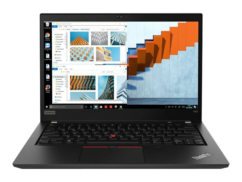 "Lenovo ThinkPad T490 - 14"" - Core i5 8265U - 8 GB RAM - 256 GB SSD - US"